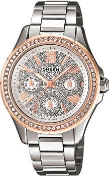 Японские наручные  женские часы Casio SHE-3504SG-7A. Коллекция Sheen