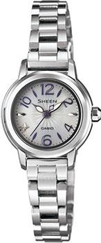 Японские наручные  женские часы Casio SHE-4502SBD-7A. Коллекция Sheen