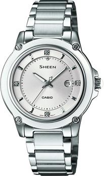 Японские наручные  женские часы Casio SHE-4507D-7A. Коллекция Sheen