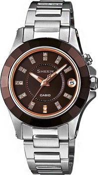 Японские наручные  женские часы Casio SHE-4509SG-5A. Коллекция Sheen