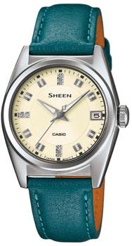 Японские наручные  женские часы Casio SHE-4518L-9A2. Коллекция Sheen