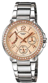 Японские наручные  женские часы Casio SHN-3008BSG-7A. Коллекция Sheen