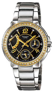 Японские наручные  женские часы Casio SHN-3008SG-1A. Коллекция Sheen