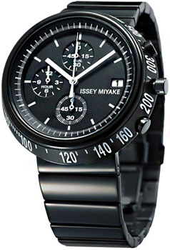 Японские наручные  мужские часы Issey Miyake SILAZ001. Коллекция Trapezoid