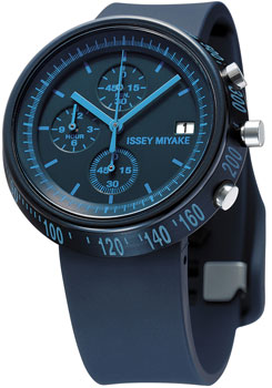 Японские наручные  мужские часы Issey Miyake SILAZ006. Коллекция Trapezoid
