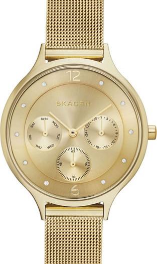 Женские наручные fashion часы в коллекции Mesh Skagen