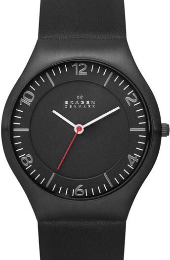 Мужские наручные fashion часы в коллекции Leather Skagen