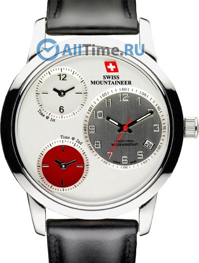 Мужские наручные швейцарские часы в коллекции Quartz Classic Swiss Mountaineer