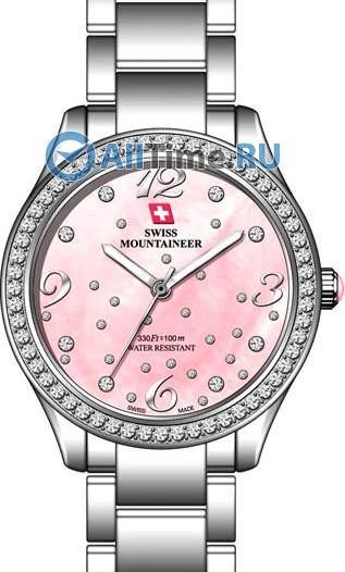 Женские наручные швейцарские часы в коллекции Lac Leman Swiss Mountaineer