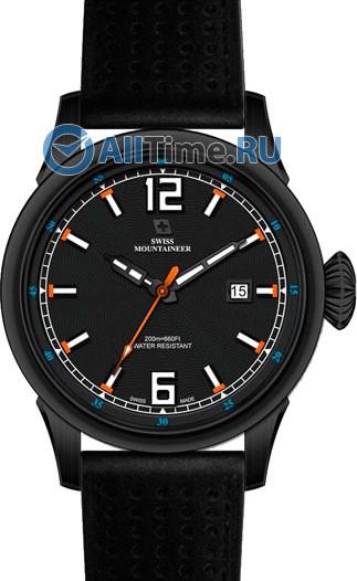 Мужские наручные швейцарские часы в коллекции Heavy Chrono Swiss Mountaineer