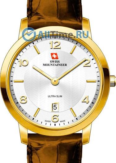 Мужские наручные швейцарские часы в коллекции Ultra Slim Swiss Mountaineer