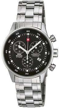 Швейцарские наручные  мужские часы Swiss military SM30052.01. Коллекция Arena