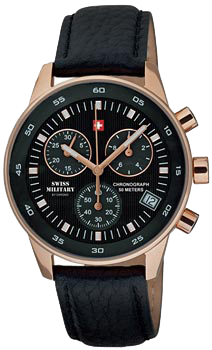 Швейцарские наручные  мужские часы Swiss military SM30052.06. Коллекция Arena