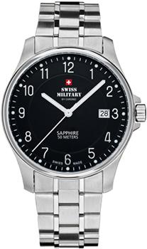 Швейцарские наручные  мужские часы Swiss military SM30137.01. Коллекция Кварцевые часы