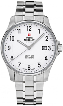 Швейцарские наручные  мужские часы Swiss military SM30137.02. Коллекция Кварцевые часы