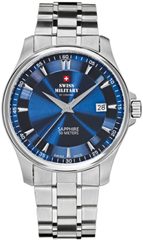 Швейцарские наручные  мужские часы Swiss military SM30137.03. Коллекция Кварцевые часы