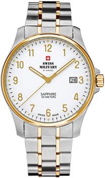 Швейцарские наручные  мужские часы Swiss military SM30137.04. Коллекция Кварцевые часы