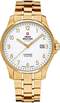 Швейцарские наручные  мужские часы Swiss military SM30137.05. Коллекция Кварцевые часы