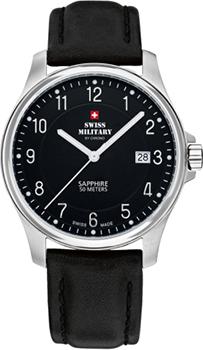 Швейцарские наручные  мужские часы Swiss military SM30137.06. Коллекция Кварцевые часы