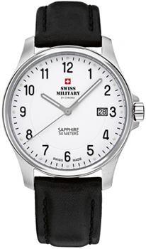Швейцарские наручные  мужские часы Swiss military SM30137.07. Коллекция Кварцевые часы