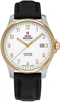 Швейцарские наручные  мужские часы Swiss military SM30137.08. Коллекция Кварцевые часы