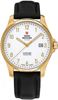Швейцарские наручные  мужские часы Swiss military SM30137.09. Коллекция Кварцевые часы