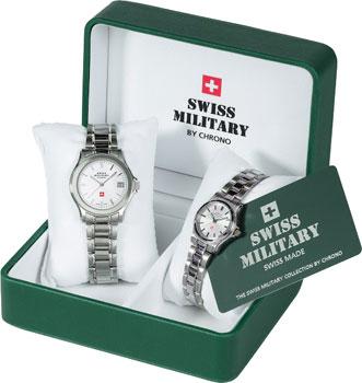 Швейцарские наручные  мужские часы Swiss military SM34002-03.01. Коллекция Кварцевые часы