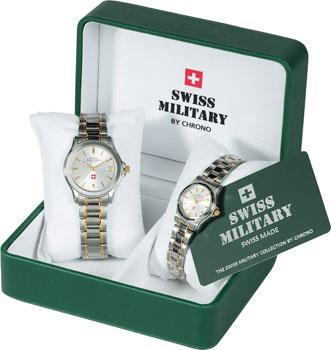 Швейцарские наручные  мужские часы Swiss military SM34002-03.02. Коллекция Кварцевые часы