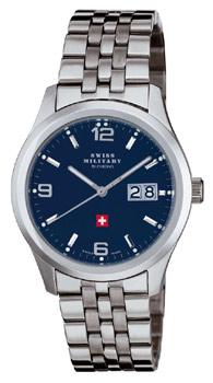 Швейцарские наручные  мужские часы Swiss military SM34004.03. Коллекция Большая дата