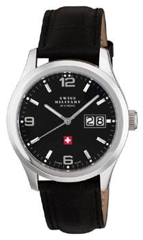 Швейцарские наручные  мужские часы Swiss military SM34004.05. Коллекция Большая дата