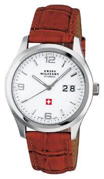 Швейцарские наручные  мужские часы Swiss military SM34004.06. Коллекция Большая дата