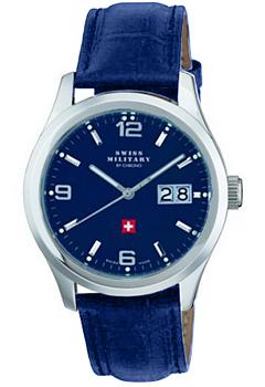 Швейцарские наручные  мужские часы Swiss military SM34004.07. Коллекция Большая дата