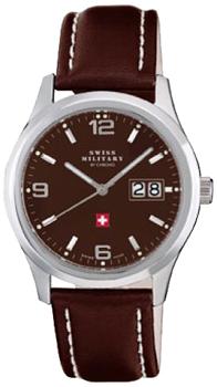 Швейцарские наручные  мужские часы Swiss military SM34004.08. Коллекция Большая дата