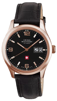Швейцарские наручные  мужские часы Swiss military SM34004.10. Коллекция Большая дата
