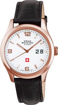 Швейцарские наручные  мужские часы Swiss military SM34004.11. Коллекция Большая дата