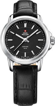 Швейцарские наручные  женские часы Swiss military SM34040.05. Коллекция Кварцевые часы
