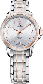 Швейцарские наручные  женские часы Swiss military SM34040.11. Коллекция Кварцевые часы