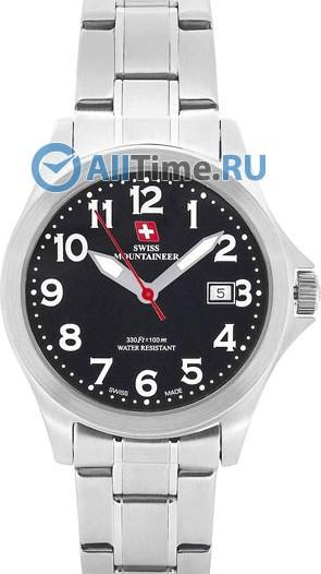 Женские наручные швейцарские часы в коллекции Lugano Swiss Mountaineer