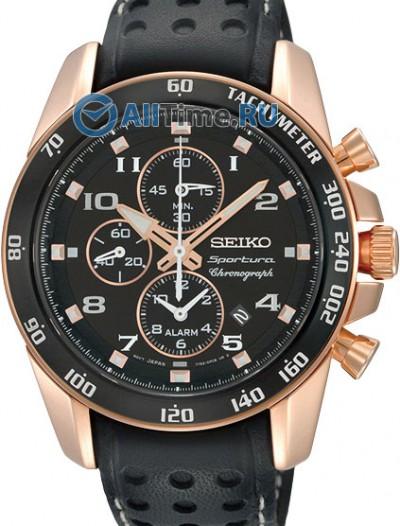 Мужские японские наручные часы в коллекции Sportura Seiko
