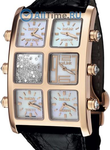 Женские наручные швейцарские часы в коллекции Lady's Ice Link