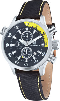 fashion наручные  мужские часы Spinnaker SP-5015-01. Коллекция TRAVELER