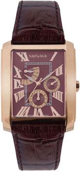 Швейцарские наручные  мужские часы Sauvage SP78768RG. Коллекция Triumph
