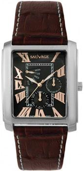 Швейцарские наручные  мужские часы Sauvage SP78768SRG. Коллекция Triumph