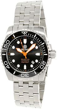 Швейцарские наручные  мужские часы Deep Blue SRABA. Коллекция Sea Ram Automatic