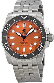 Швейцарские наручные  мужские часы Deep Blue SRABC. Коллекция Sea Ram Automatic