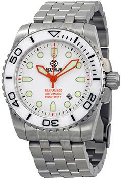 Швейцарские наручные  мужские часы Deep Blue SRAWA. Коллекция Sea Ram Automatic