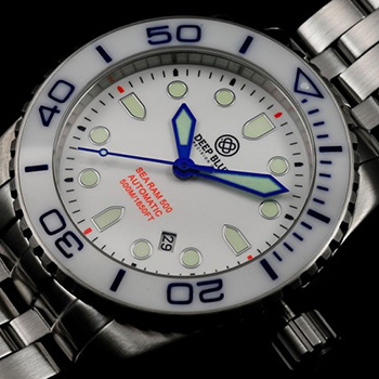 Швейцарские наручные  мужские часы Deep Blue SRAWB. Коллекция Sea Ram Automatic