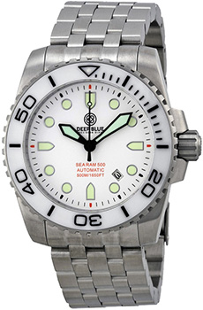 Швейцарские наручные  мужские часы Deep Blue SRAWD. Коллекция Sea Ram Automatic
