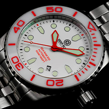 Швейцарские наручные  мужские часы Deep Blue SRAWE. Коллекция Sea Ram Automatic