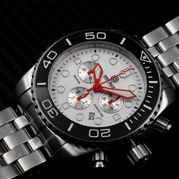 Швейцарские наручные  мужские часы Deep Blue SRCBE. Коллекция Sea Ram Chronograph